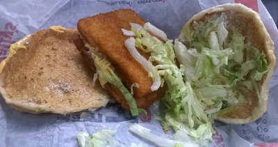 Fast food fish reviews main page for Checkers fish sandwich